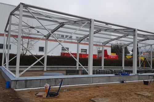 New construction Boels rental center Norderstedt 5