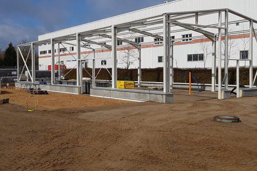 New construction Boels rental center Norderstedt 4