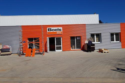 New construction Boels rental center Norderstedt 3