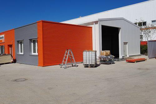 New construction Boels rental center Norderstedt 2