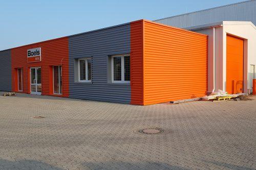 New construction Boels rental center Norderstedt
